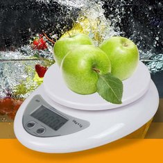 Honana HN-MS6 5KG/1G Digital LCD Electronic Kitchen Postal Scales Food Baking Weight Scale