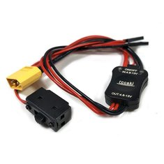 Rccskj 4.8V - 13V High Current Electronic Switch Built-in LED Indicator With XT60 Plug For RC Models