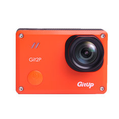 GitUp Git2P Pro 2K WiFi Action Camera 170 Degree Lens Panas0nic Sensor Sport DV Orange
