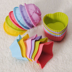 1Pcs Silicone Cake Muffin Chocolate Liner Baking Cup Molds