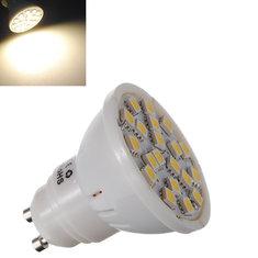 GU10 5W 320LM Warm White 20 SMD 5050 LED Spot Lightt Lamp Bulb 220V