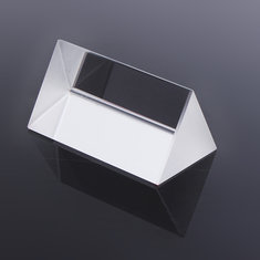 Optical Glass Triple Triangular Prism Physics Teaching Light Spectrum