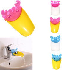 Novelty Crab Kid Toddler Bathroom Washing Hands Sink Faucet Extender Tool