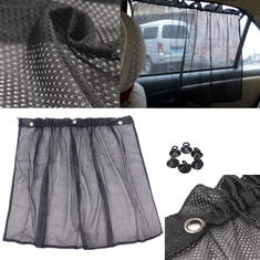 Auto Car Net Curtain Window Sunshade Shadow Protection Curtain