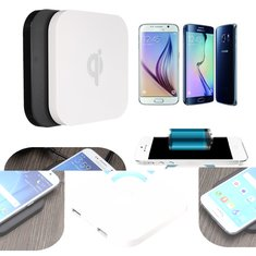 Q8 Qi Wireless Charger Charging Pad Transmitter For iPhone Samsung LG HTC