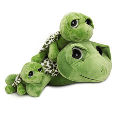 2015 New Babies Kids Cute Big Eyes Turtle Tortoise Soft Doll Stitch Plush Toy