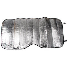 Auto Car Windshield Front Window Visor Cover Sunshade Silver Foil