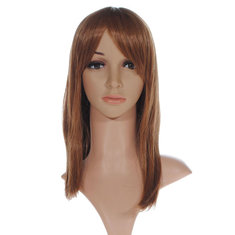 Fashion Sexy Hot Synthetic Fiber Women Long Straight Wigs