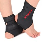 Tourmaline Self Heating Magnetic Therapy Foot Ankle Massage Belt Pad