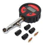 0-200PSI Metal Digital LCD Tire Air Pressure Gauge Tester PSI BAR KPA KGF/cm²