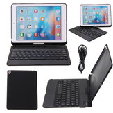360° Rotation Ultra-thin Bluetooth Keyboard Protective Cover Case for iPad Air 2