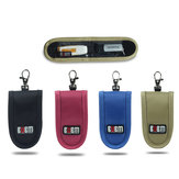 Original BUBM BM-DH004 Portable USB Drive Organizer Waterproof Electronic Storage Bag Pocket Size USB Case