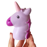 1PCS Unicorn Squishy Slow Rising Jumbo Cute Horse Pendant Strap Soft Scented Kid Toy for Cellphone