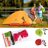Original Naturehike 4*4m Reflective Tent Rope Windproof Rope Guy Line Awning With Adjustable Button Green&Red