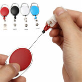 Retractable Reel Keyring Clip Retractable Carabiner Recoil Key Ring Key Chain ID Card Holder Holder