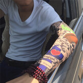 Tattoo Arm Cooling Sleeves Gloves Summer Sport Cycling Bicycle Bike Sunscreen Driving Glove