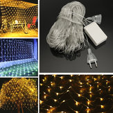 Original 2M*3M 3M*3M Waterproof Mesh Net LED Fairy String Light For Wedding Christmas EU Plug