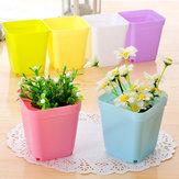 Plastic Planter Flower Plant Pots Garden Home Yard Decoration