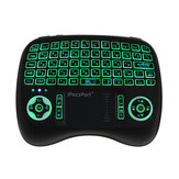 Original iPazzPort KP-810-21T-RGB Russian Three Color Backlit Mini Keyboard Touchpad Airmouse