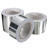 Original 50m Aluminum Foil Conductive Tape EMI Shielding Duct Insulation Self Adhesive Tape 3 Widths