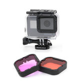 GoPro Hero 5 Purple-Red Red Filter Lens For Blue Green Color Correction Underwater Photography