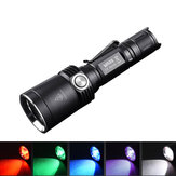 Fitorch MR35 XP-L2 1200Lumens 5lightcolors Rechargeable Portable UV LED Flashlight