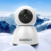 GUUDGO GD-SC03 Snowman 1080P Cloud WIFI IP Camera Pan&Tilt IR-Cut Night Vision Two-way Audio Motion Detection Alarm Camera Monitor Support Amazon-AWS[Amazon Web Services] Cloud Storage Service