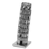 Aipin DIY 3D Puzzle Stainless Steel Model Kit The Leaning Tower Of Pisa