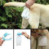 Pet Dog Outdoor Pooper Scoopers Clip Pet Outdoor Travel Waterproof Toilet Dog Portable Toilet
