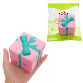 Original Giggle Gift Bread Squishy 7.5*7cm Slow Rising With Packaging Collection Gift Soft Toy