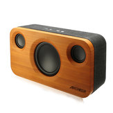 ARCHEER A320 Bamboo Bluetooth Speaker Portable Subwoofer HIFI Stereo Audio Power