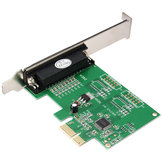 Parallel Port DB25 25Pin IEEE 1284 PCI-E PCI Express Centronics Card Adapter