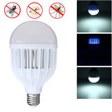 Original E26 E27 B22 10W Tres modos de trabajo Bug Zapper LED Bombilla Mosquito Killer Light AC85-265V