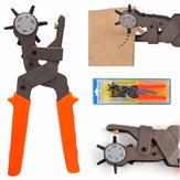 2.0-4.5mm Holes Punch Tool Heavy Duty Leather Hole Hand Pliers Leather Punch