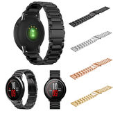 22mm Stainless Steel Watch Strap Fold Buckle Replacement Bracelet Band For Xiaomi Huami Amazfit