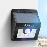 ARILUX® AL-SL01 Super Bright 8 LED Solar PIR Motion Sensor Light Waterproof Outdoor Security Lamp