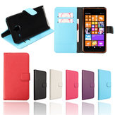 Lichi Leather Flip Wallet Card Stand Case Cover For Microsoft Lumia 640XL