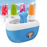 Original Quick Pop Popsicle Maker Hielo Congelado Pops Nonstick molde de aluminio molde Blue Home Appliance