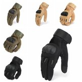 Tactical Military Motorcycle Bicycle Airsoft Shooting Hunting Full Finger Gloves