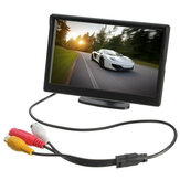 Car Rear Rearview Monitor Suction Stand Reverse Backup Camera TFT LCD 5 Inch