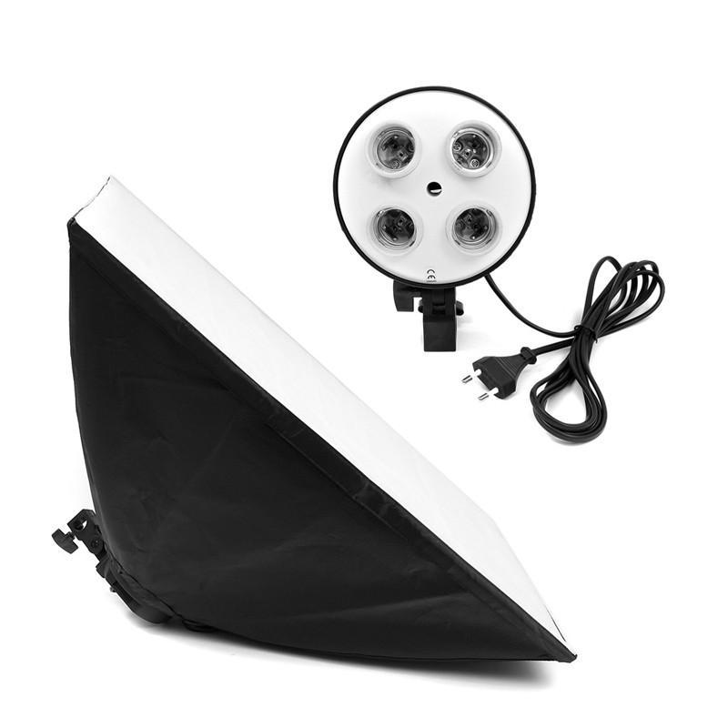Photography Photo Studio Lighting 4 Socket