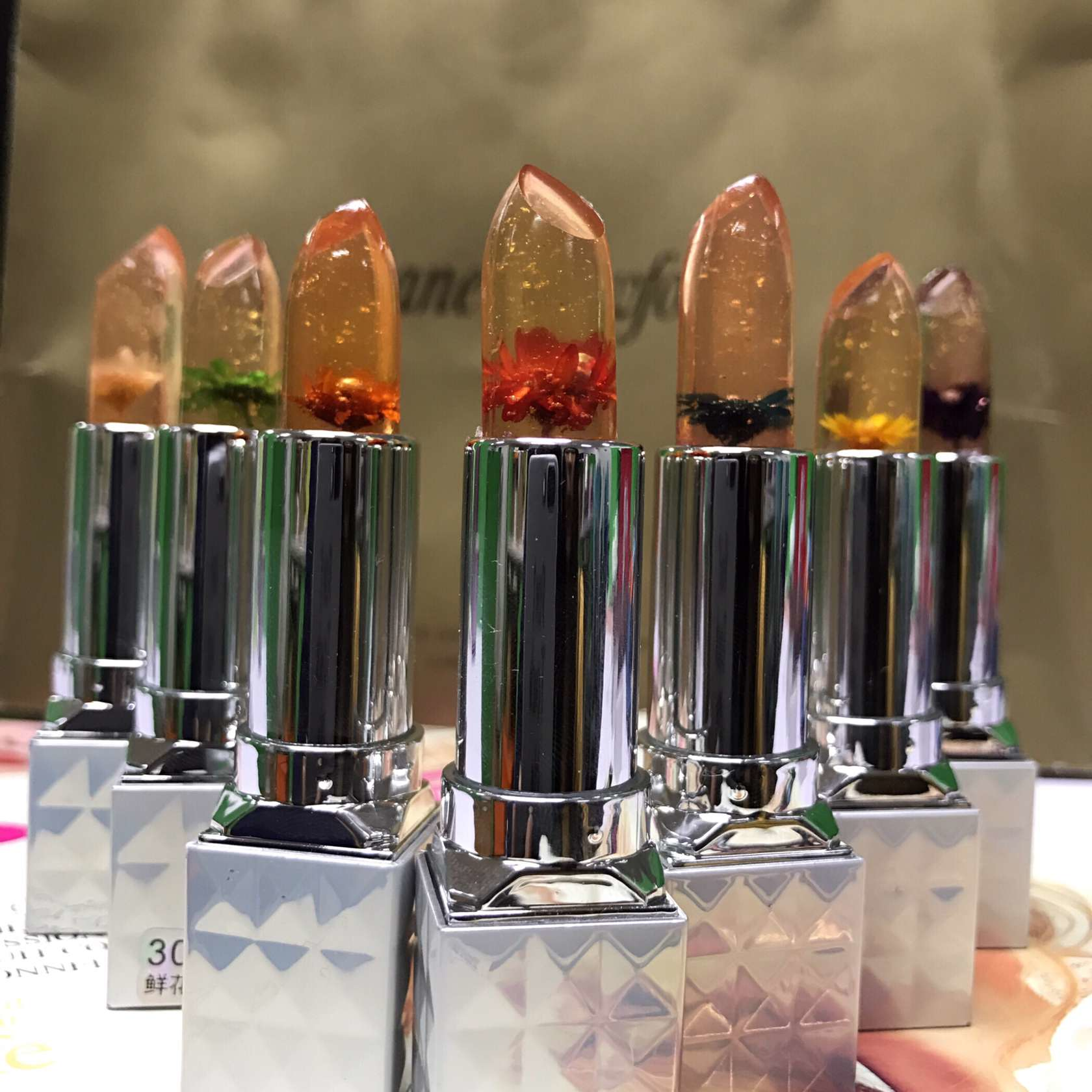 Color Changing Lipstick Flower Jelly Lip