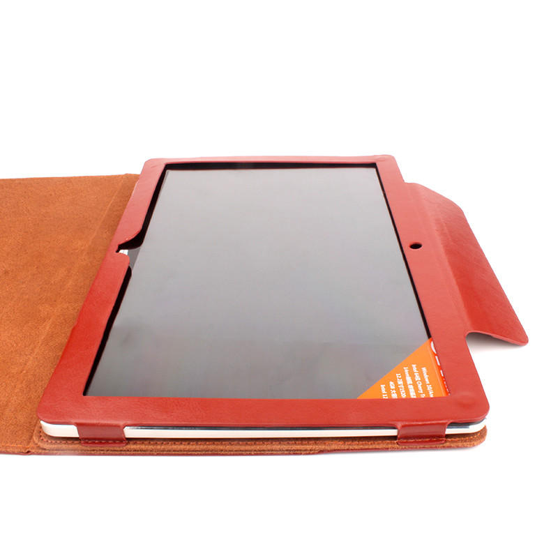 Stand Flip Folio Cover PU Leather