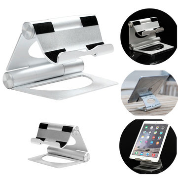 Aluminum Adjustable Multi-angle Folding Holder Stand For Tablet Cell Phone