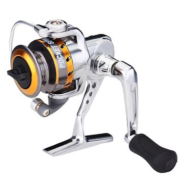 3 + 1 Shaft All Metal pesca Spinning Reels 5.0: 1 carretes de línea