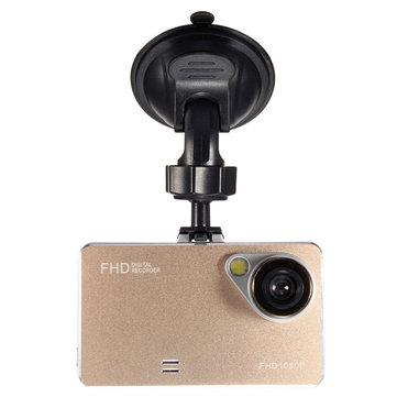 1080p hd 2.6 pollici lcd auto dash fotocamera dvr video registratore g-sensore ir visione notturna