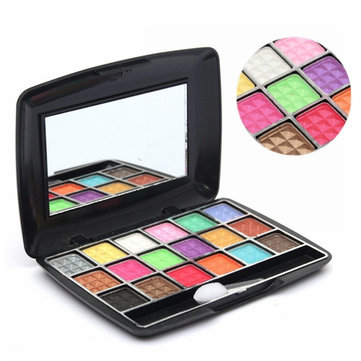 18 Colors Eye Shadow ชุดเครื่องสำอางค์ Natural Palette Matte Smoky Eyes Makeup