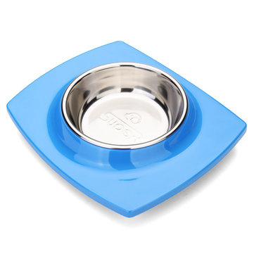 DB-67 Dog Cat Stainless Steel Food Bowl Pet Feeder