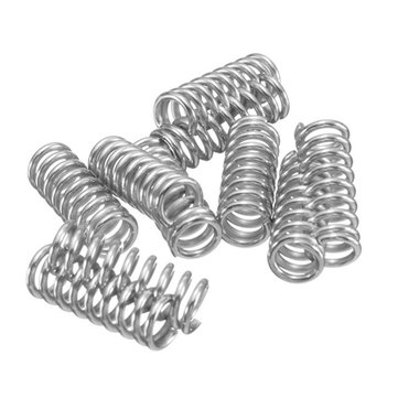 10pcs Spring For 3D Printer Extruder Heated Bed