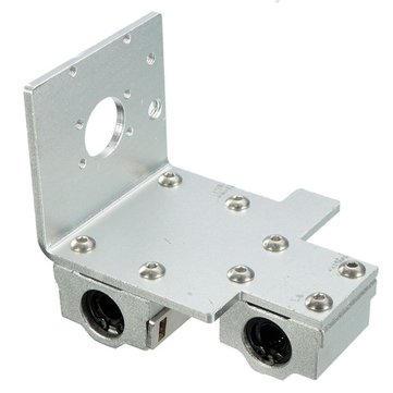X-Axis Long / Short Distance Printhead Aluminum Mounting Base For 3D Printer